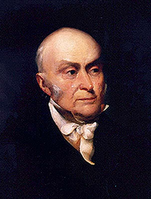 a biography of john quincy adams the former president of the united states