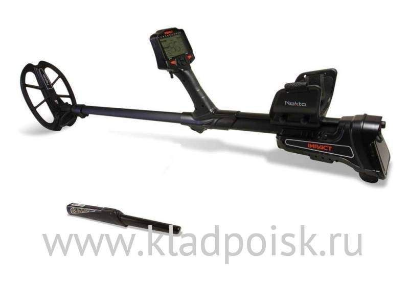 Металлоискатель Nokta Impact PRO package + RS Pinpointer